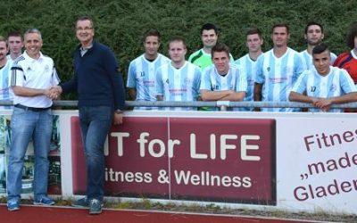 Kooperation zwischen dem FIT for LIFE Fitness Studio und dem SC 1919 Gladenbach