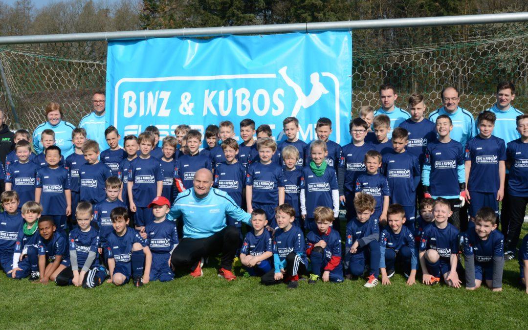 Osterferien 2019: Binz & Kubos Fußballcamp erstmals zu Gast beim GSC