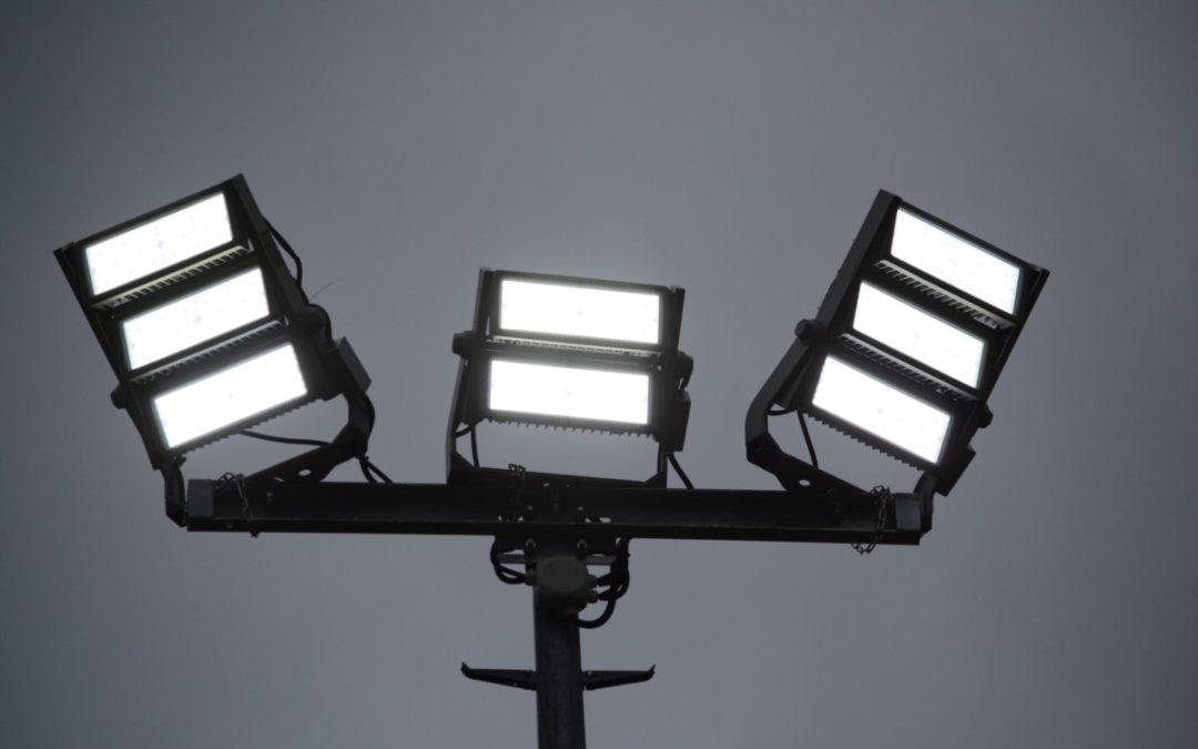 Neues LED-Flutlicht beim GSC